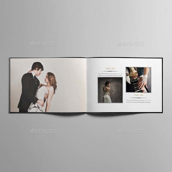 Wedding Photo Album Template by Keboto | GraphicRiver
