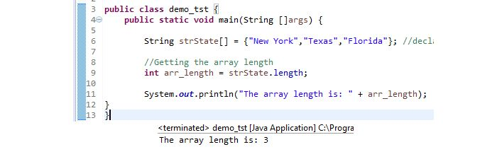 Java array length – How to get array size in Java by using length ...