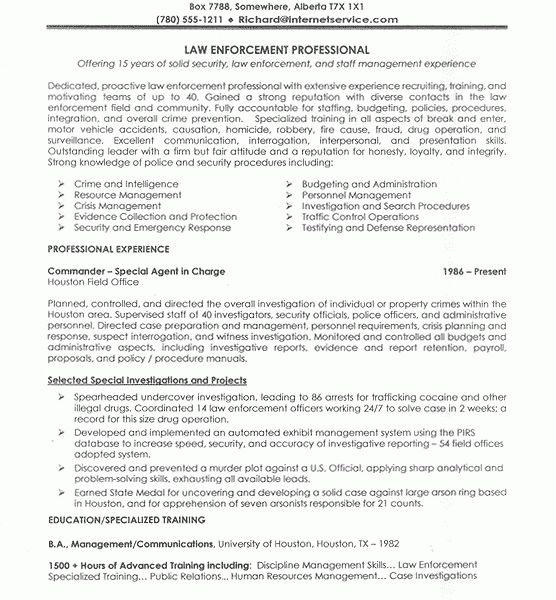 sample police resume resume cv cover letter. security officer ...