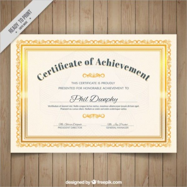 18+ PSD Certificate Templates - PSD, Free Formats Download