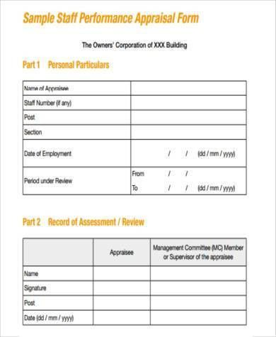 Free Appraisal Forms | Pitch.billybullock.us