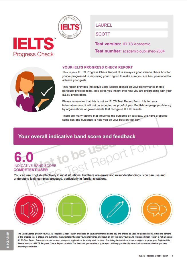 IELTS Progress Check | IELTS official practice tests for purchase