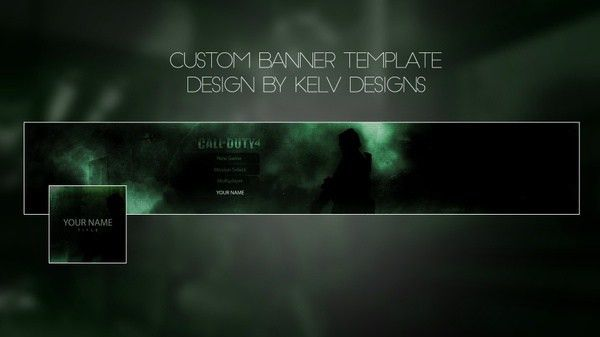 World of Tanks - Youtube banner template