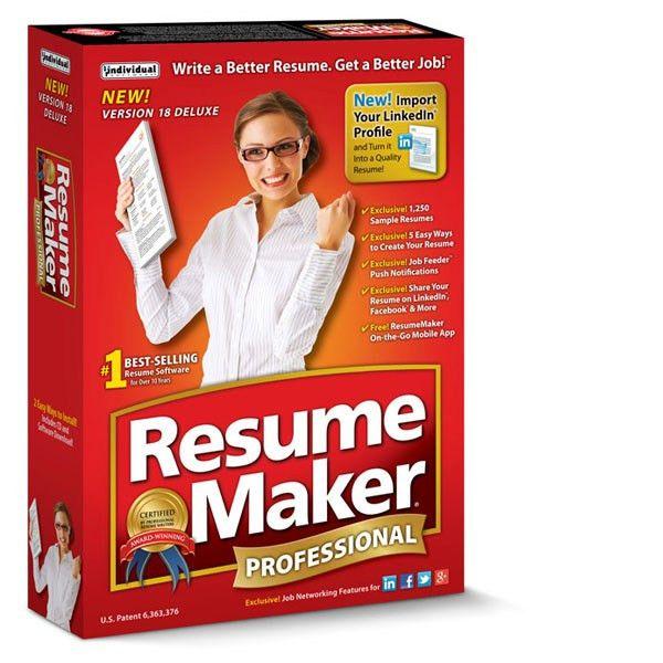 Resume making free software