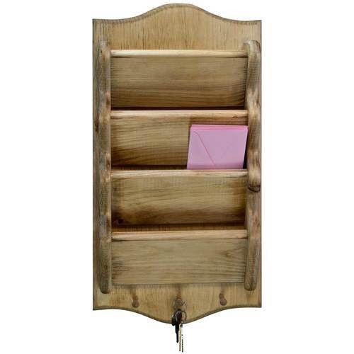 Mail Holder | Wood Letter Holder Key Rack - dnlwoodworks.com