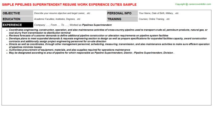 Resume examples for building superintendent , Gun control research ...