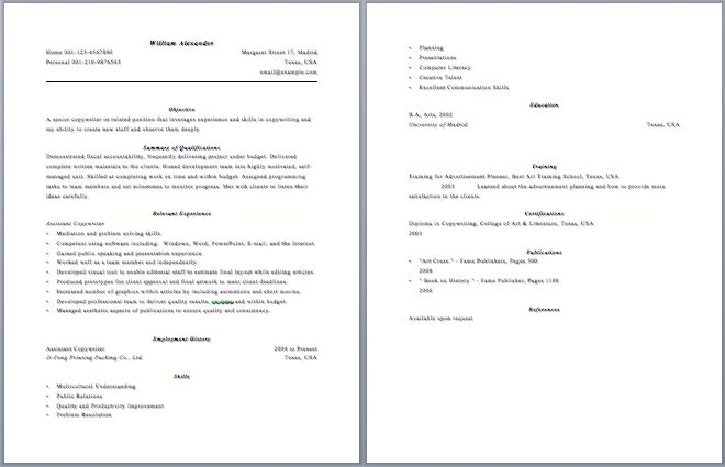 how to prepare a resume2 how prepare a resume prepare lovely ideas ...