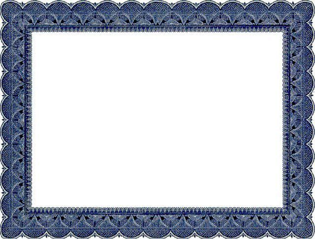 microsoft word certificate borders - Template