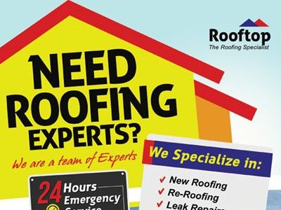 Roofing Contractor Flyer Templates by Kinzi Wij - Dribbble