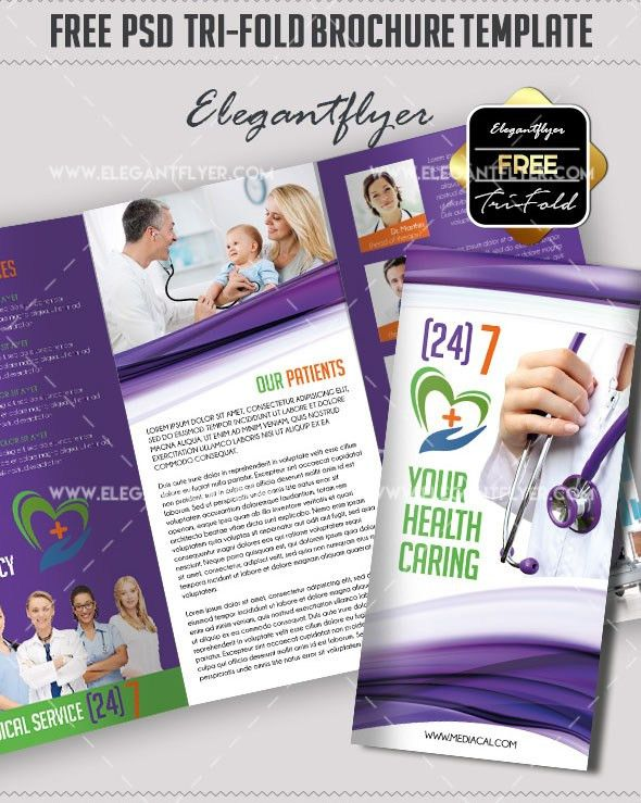 45+ Free PSD Tri-Fold & Bi-Fold Brochures Templates for promoting ...