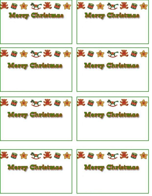 Name Tags Word Template - Molrol.com