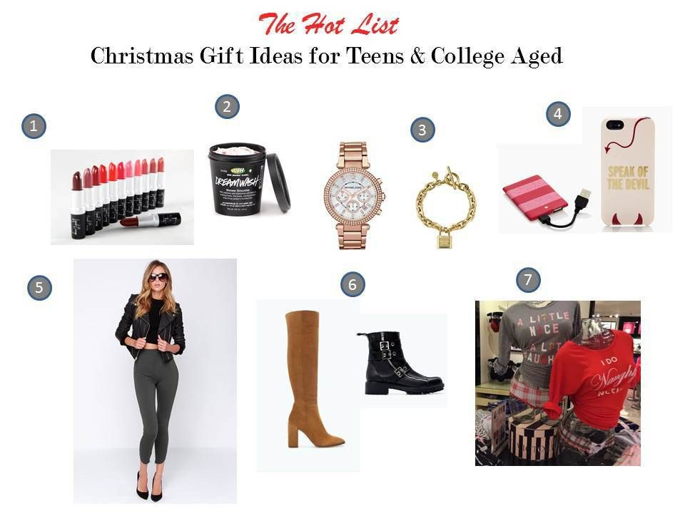 Christmas gift giving guide for tweens teens and college aged ...