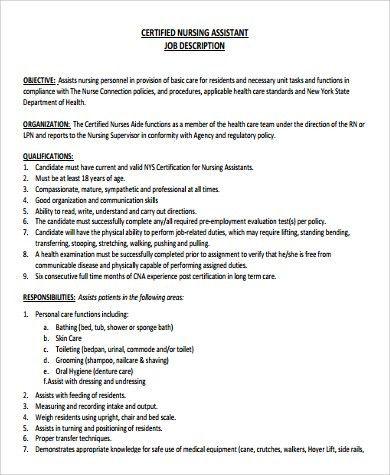Download Job Duties Of Cna   haadyaooverbayresort.com