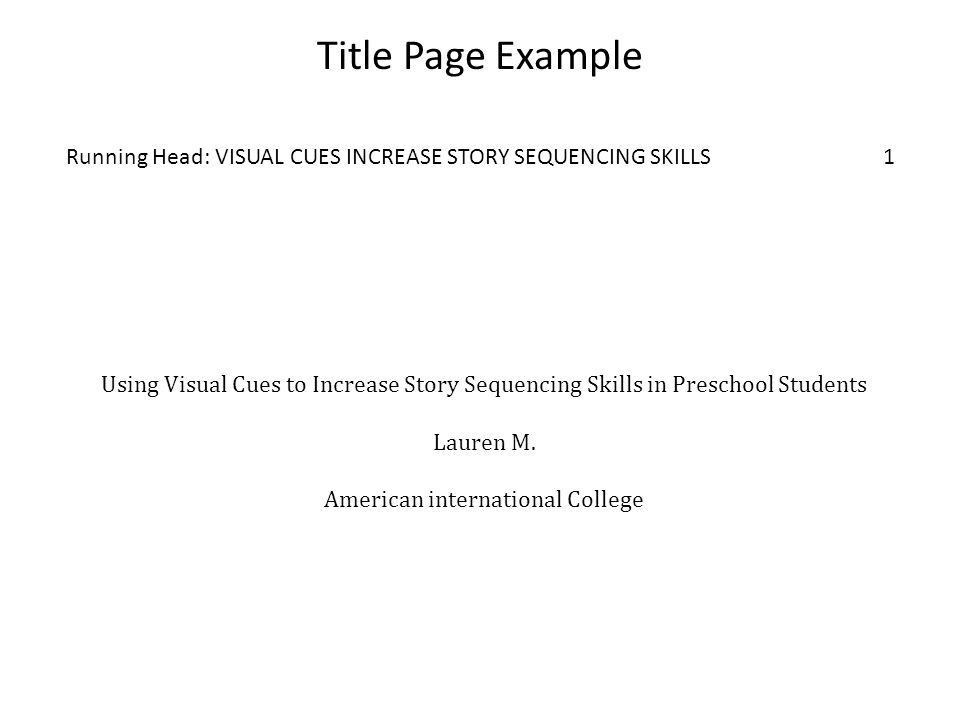 Writing Using APA Style Graduate Research Papers Based on: Purdue ...