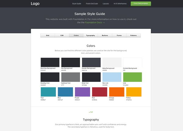 ZURB Foundation Training | Creating a Killer Style Guide