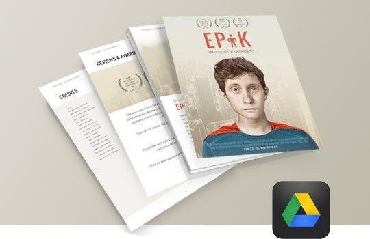 EPK | Electronic Press Kit Tutorial - FREE Templates for Film