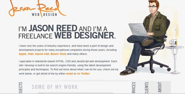 25 Truly Inspiring About Me Page Designs