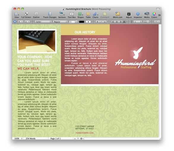 Diversify your Pages templates | Macworld