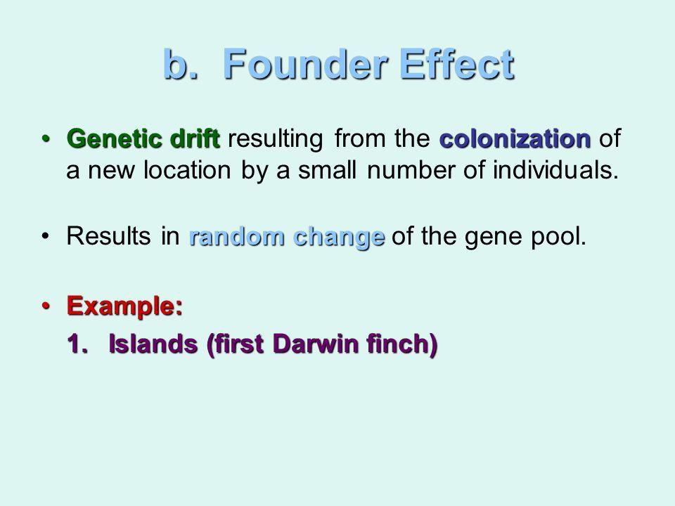 Five Mechanisms of Microevolution 1. Genetic drift: Change in the ...