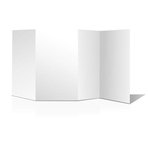 Blank brochure presentation - Transparent PNG & SVG vector
