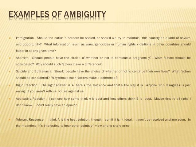 AMBIGUITY- POETRY 3_Presentation Introduction To Literature (ITL)