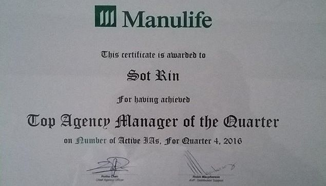Top Agency Manager of the Quarter | Rin Sot | Pulse | LinkedIn