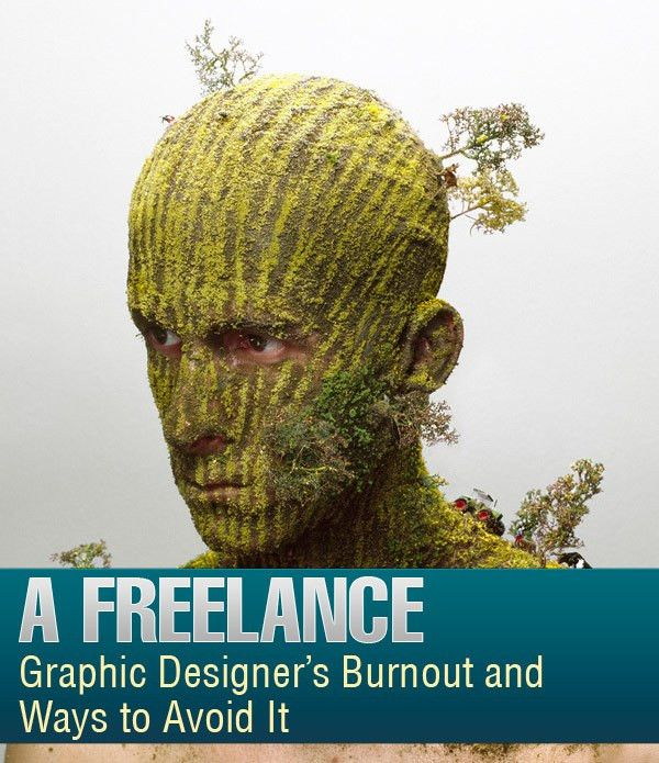 A Freelance Graphic Designer Burnout and Ways to Avoid It