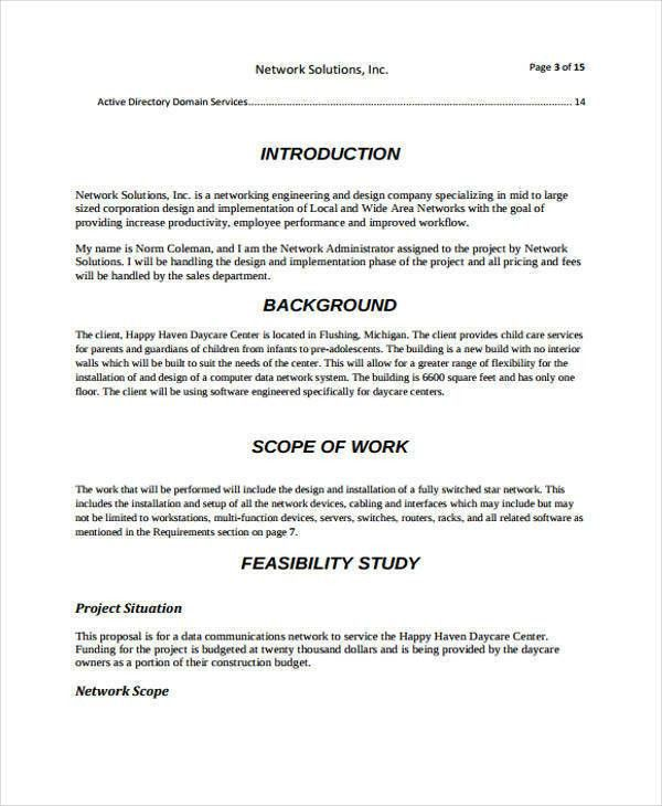 9+ Design Proposals - Free Documents in Word, PDF