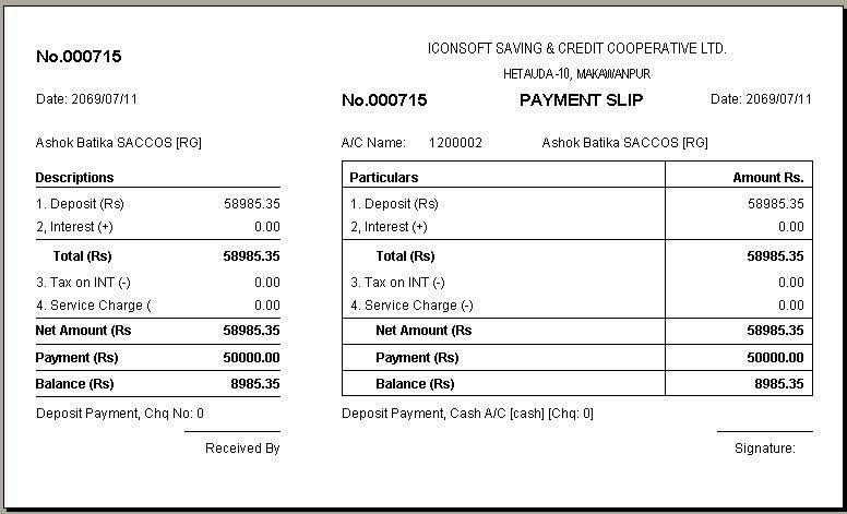 Payment Slips | Cvcover.billybullock.us