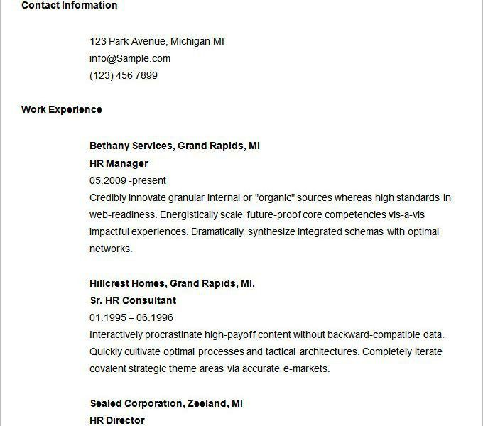 Basic Resume Examples. Resume Examples First Job First Resume ...