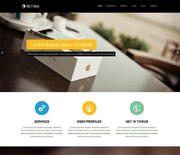20 Free & Premium Bootstrap Templates - Pixel77
