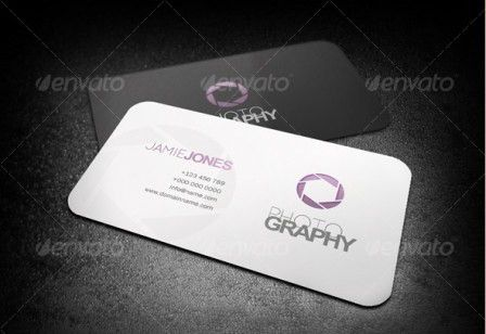 Photography Business Card Template | Business Card Critic - Rate ...