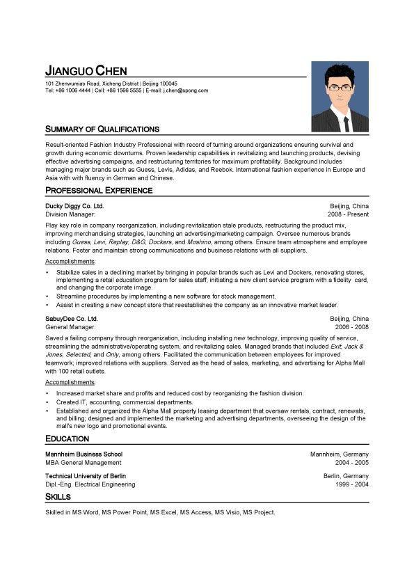 Spong Resume | Resume Templates & Online Resume Builder & Resume ...