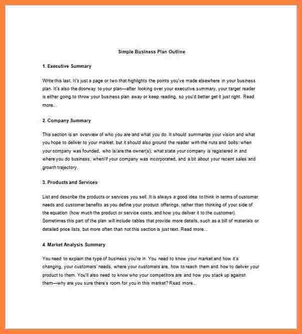 8+ business plan format examples | Bussines Proposal 2017