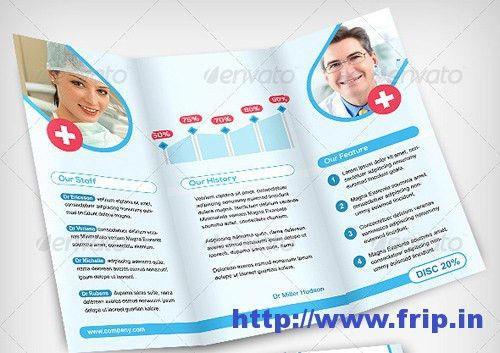 60 Best Medical Brochure Design Print Templates 2017 | Frip.in