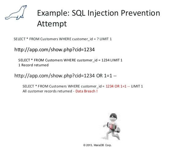 Securing Against SQL Injection Attacks with MariaDB MaxScale