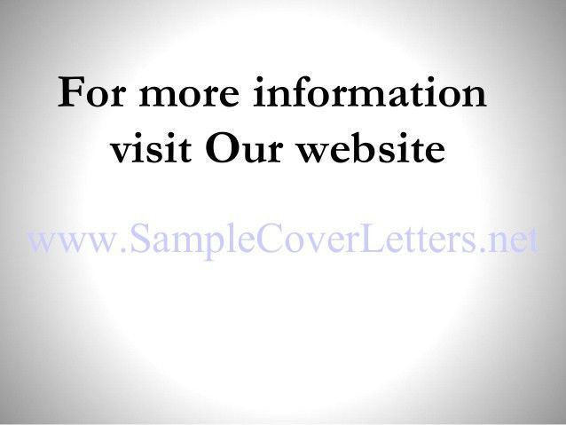 more tax cover letters inside cover letters that worked. interest ...