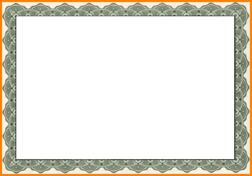 6+ free printable certificate border templates | sample of invoice