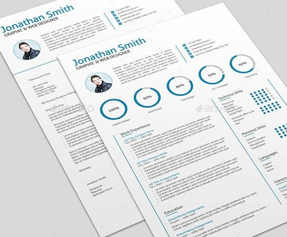 Iwork Resume Templates. 18+ One Page Resume Template   Ai .