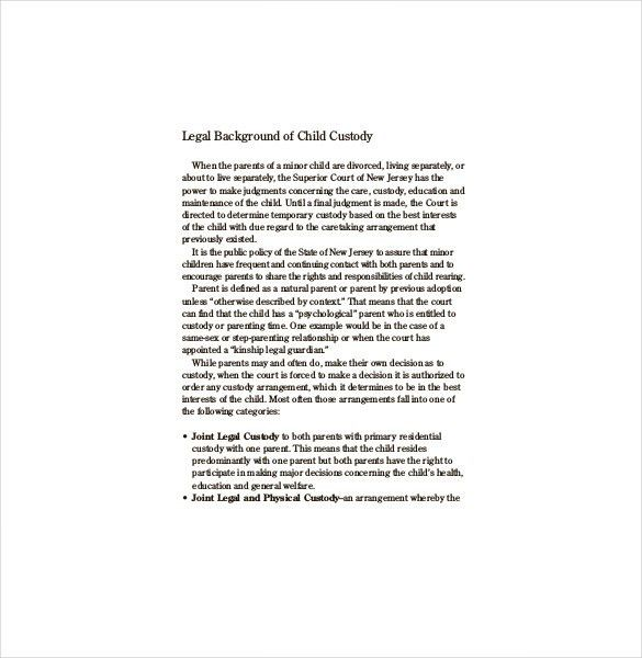 sample rental agreement letter 7 documents in pdf word. child ...