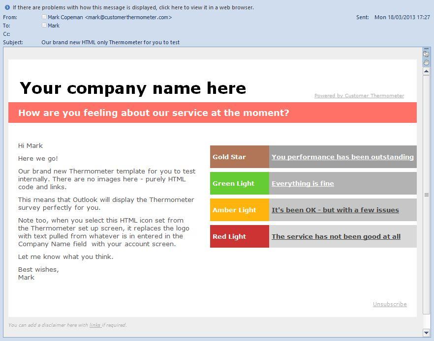 Survey Design Using Microsoft Outlook | Email Surveys