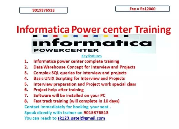 What are the best companies for Informatica Power Center developer ...