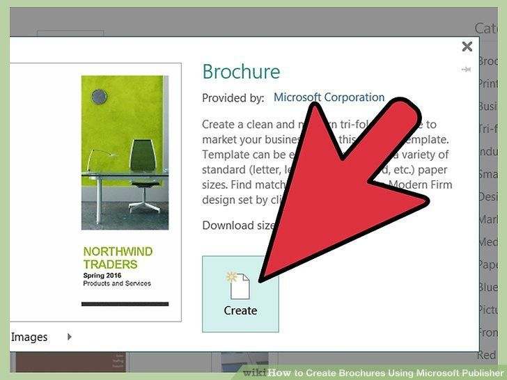 How to Create Brochures Using Microsoft Publisher: 11 Steps