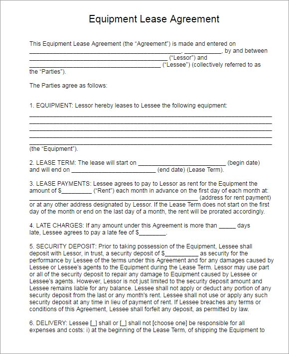Rental Lease Agreement || Free & Premium Templates | Creative Template