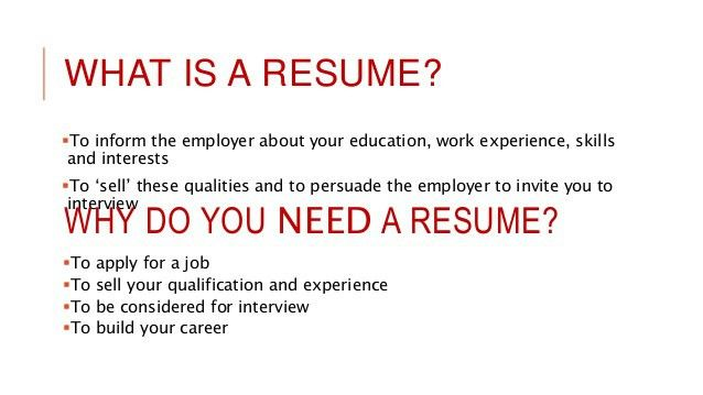 What Is A Resume Cv | haadyaooverbayresort.com