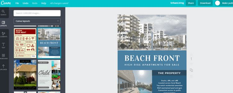 How to Create Real Estate Flyers with Canva | BoomTown