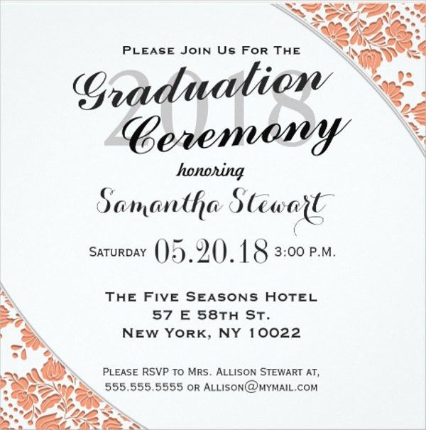 Funeral Ceremony Invitation, grey sketch floral funeral invitation ...