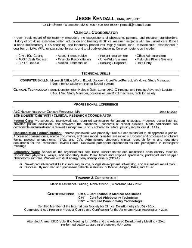 clinical study manager sample resume bank bookkeeper sample resume ...