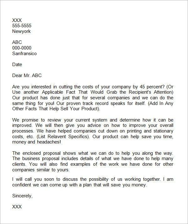 Writing A Proposal Letter   flawedlogicjeepclub