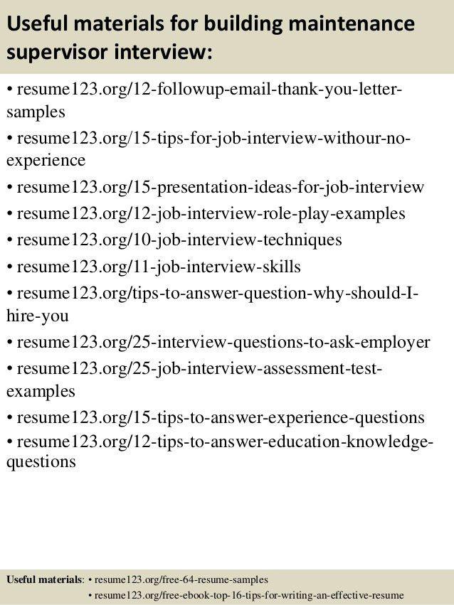 facility supervisor resume evaulation essay preparing a resume